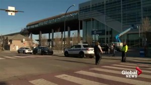 One man dead after stabbing at Sunalta CTrain Station, Calgary police seek suspect