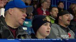Son helps father 'see' Saskatoon Blades games