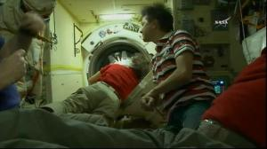 New crew members arrive aboard ISS