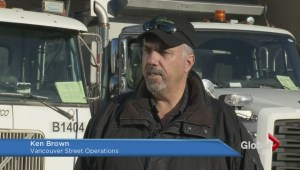City of Vancouver on standby for possible snowfall