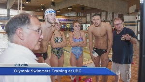 Olympic swimmers train and prepare for Rio at UBC