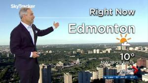 Edmonton early morning weather forecast: Wednesday, June 21, 2017