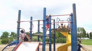 Saskatoon teacher pushes to replace two school playgrounds