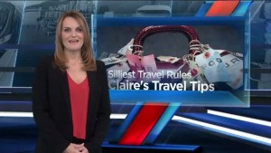 Claire Newell's silliest travel rules