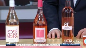 Different ways to use rosé