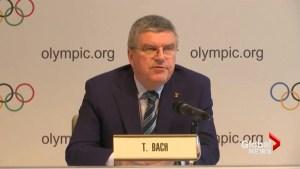 IOC backs ban of Russian track team
