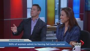 Survey finds half of women have a backup partner