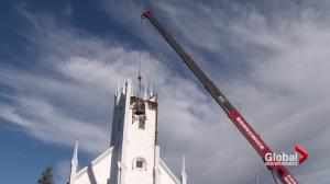 Church bell tolls no more at the Petitcodiac Baptist Church