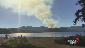 Fires spark near urban centres.