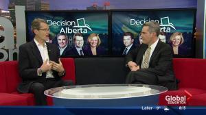 Debate recap:  Liberal  leader David Swann on Global Edmonton