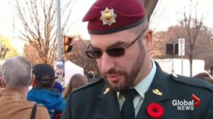 Ottawa police are investigating a man who posed as a soldier during Remembrance Day ceremonies.