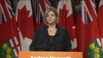 Horwath won't say if candidate accused of sexual assault can run again