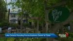 Toronto Islands flooding sinks Rectory Cafe
