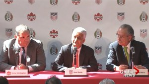 Canada, U.S., Mexico join forces in bid to host World Cup