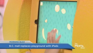 Mall replaces kids playground with iPads for play time