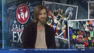 Tom Payne discusses his appearance at Calgary Expo
