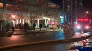 1 dead, 1 hospitalized after downtown Edmonton apartment fire
