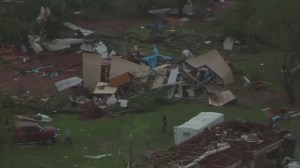 Violent weather leaves wake of destruction in Oklahoma