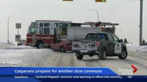 Calgarians prepare for another slow commute
