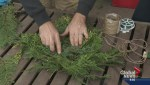 Gardening: Heart Shaped Wreath