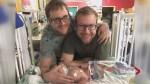 Lethbridge family raises $18K to bring newborn to Alberta