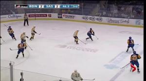 Saskatoon Blades beat Brandon Wheat Kings 3-2