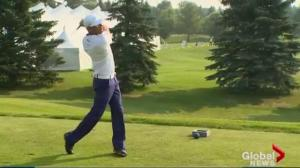 Graham DeLaet Slam supporting Children's Wish Foundation