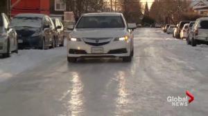 Weekend snow storm creates slick roads in Metro Vancouver