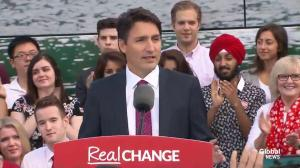 Trudeau blasts Harper: 'When a plan isn't working, the real risk is sticking with the status quo'