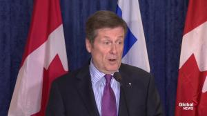 "Tory: ""Unrealistic"" to expect buckets of cash from NDP, Liberals"