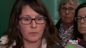 Mother of victim believes de Grood apology, but says he needs to stay institutionalized