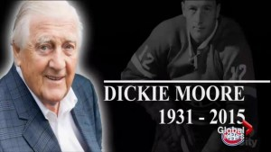 Montrealers bid adieu to hockey great Dickie Moore