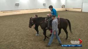 Edmonton equine organization opens new facility in river valley