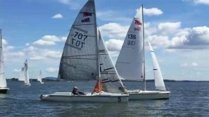 Disabled sailors take to the water at annual regatta