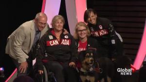 Team Canada paracanoeing