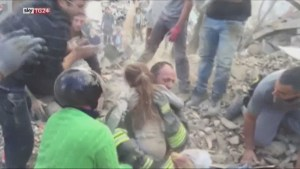 10-year-old girl pulled out of rubble alive, 17 hours after 6.2 magnitude earthquake hits Italy