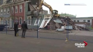 Controversy continues around Saint John's now demolished Jelly Bean Buildings