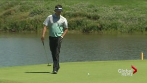 Grillo leads RBC Canadian Open after first round but school principal steals the headlines