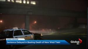 Teen murder sentencing