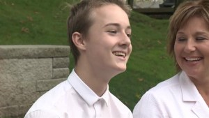 One-on-one with B.C. Premier's son