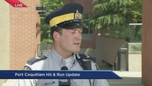 Coquitlam RCMP update on hit and run