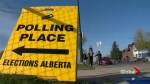 Election Day in Calgary
