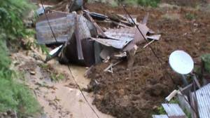 Raw Video: Hundreds feared buried under mudslide in Sri Lanka