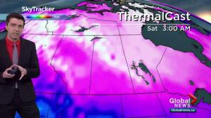 Saskatoon weather outlook: extreme cold moves in after storm