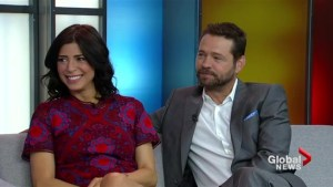 Jason Priestley and Cindy Sampson on 'Private Eyes'