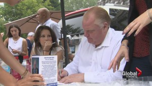Rob Ford: Mayoral election will be the 'biggest in Toronto's history'