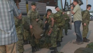 Canadian Forces reservists help wildfire containment efforts near La Ronge