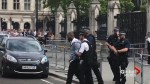 Man arrested at Westminster on suspicion of carrying knife