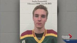 Memorial game for Jaydon Sommerfeld