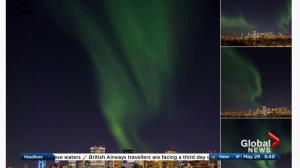 Albertans tweet photos of northern lights